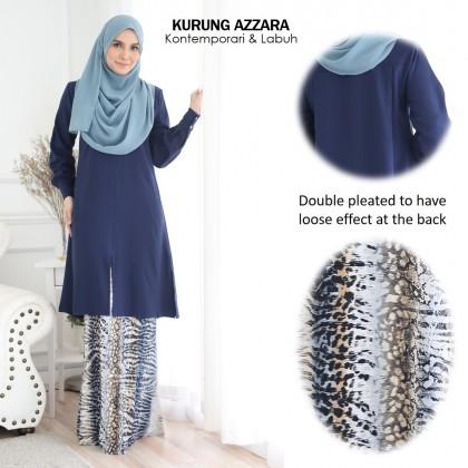Kurung Azzara - royal blue [XS & S]